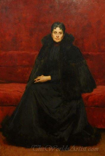 La Signora Olimpia Oytana Barucchi  (The Lady Olimpia Oytana Barucchi)