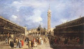 The Piazza San Marco Towards The Basilica
