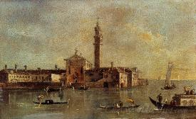 View Of The Island Of San Giorgio In Alga Venice