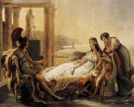 Aeneas Tells Dido About The Fall Of Troy