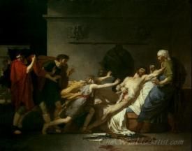 Death Of Cato The Younger
