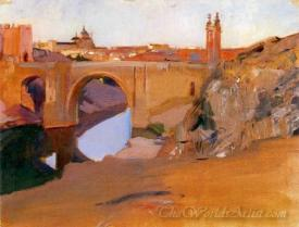 View Of The Tajo Toledo