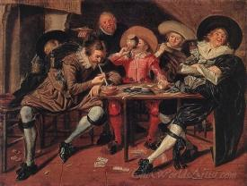 Merry Party In A Tavern