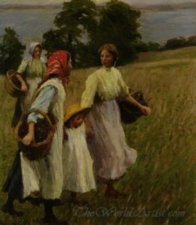 The Blackberry Harvest