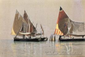 Italian Boats Venice