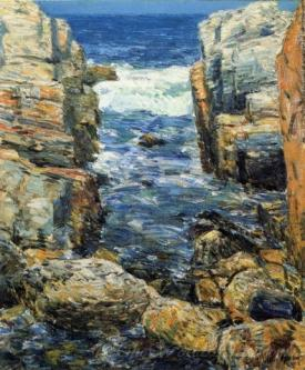 The South Gorge Appledore Isles Of Shoals