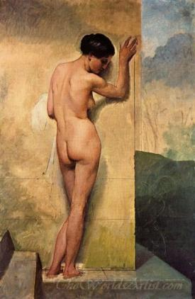 Nudo Di Donna Stante  (Nude Woman Standing)