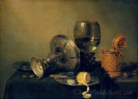 Still Life With Gilt Beer Tankard