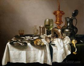 Still Life With A Gilt Goblet