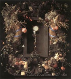 Eucharist In Fruit Wreath