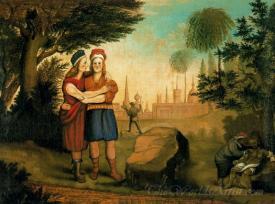 David And Jonathan At The Stone Ezel