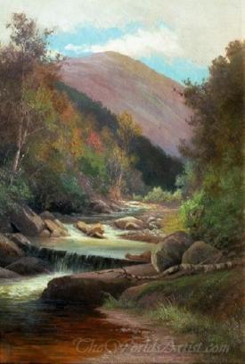 Lafayette Brook Autumn