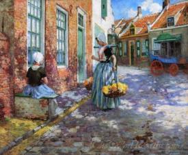 Dutch Flower Girls