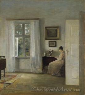 Laesende Kvinde  (Reading Woman)