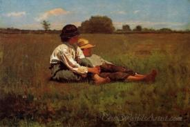 Boys In A Pasture