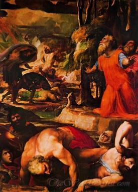 Il Castigo Del Fuoco Celeste  (The Punishment Of Celestial Fire)