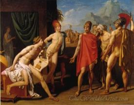 Achilles Receiving The Envoys Of Agamemnon