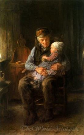 In Grandfathers Arms
