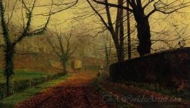 Autumn Sunshine Stapleton Park Pontefract