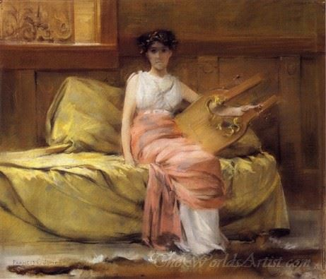 Lady With A Lyre