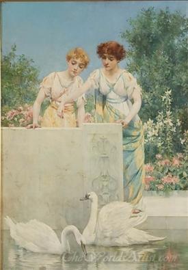 Feeding The Swans