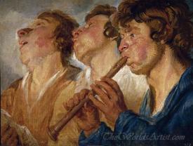 Three Street Musicians