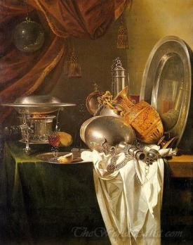 Still Life With Chafing Dish