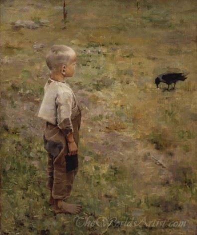 Boy With A Crow