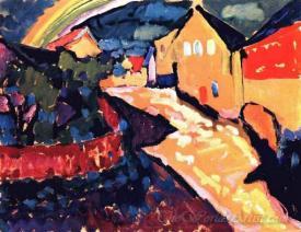 Murnau With Rainbow
