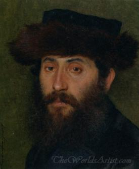 Portrait Of A Man With Streimel