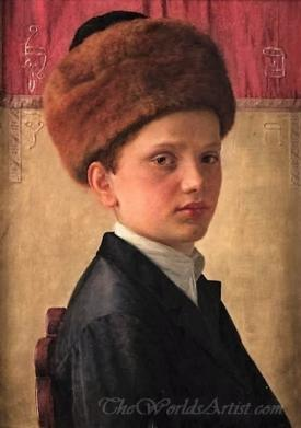 Portrait Of A Young Yeshiva Boy