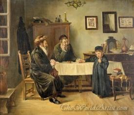Der Besuch Des Rabbi