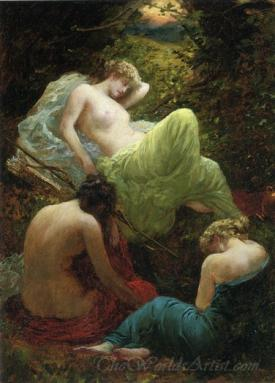 The Siesta Of Diana