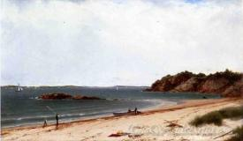 View Of The Beach At Beverly Massachusetts