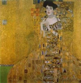 Portrait Of Adele Bloch Bauer I  (The Woman In Gold)