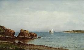 Narragansett Bay From Jamestown