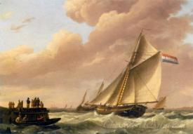 Scene At The Dutch Coast