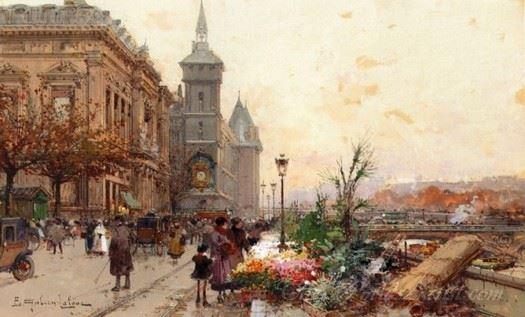Quai De L Horloge Paris  (Clock Tower)