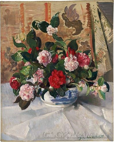 Still Life Camellias