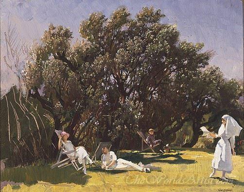 The Garden At St Lukes Hospital