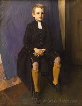 Constant Lambert As A Blue Coat Boy