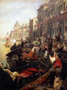 The Regatta In Venezia