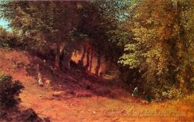 Picnic In A Summer Landscape