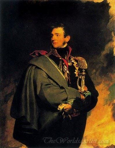 Portrait Of Count Mikhail Vorontsov