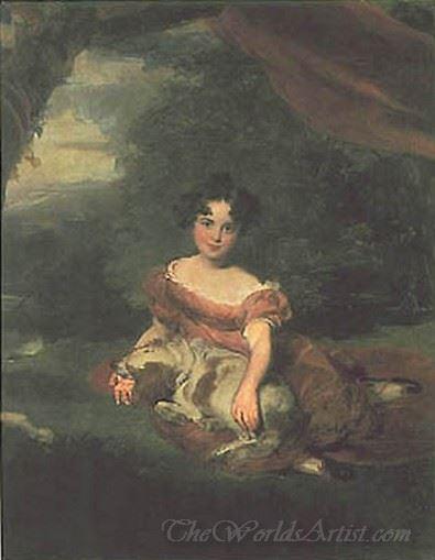 Portrait Of Miss Peel