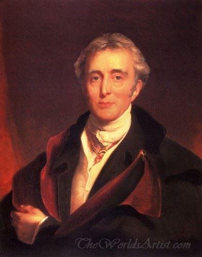 Portrait Of The Duke Of Wellington