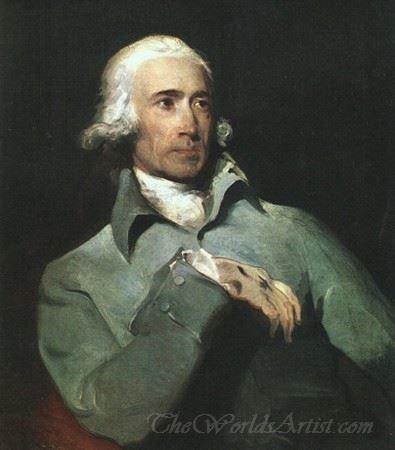 Portrait Of William Lock