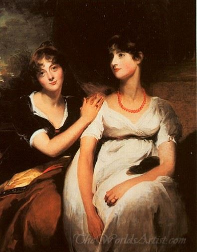 The Daughters Of Colonel Thomas Carteret Hardy