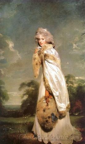 Elisabeth Farren Later Countess Of Derby