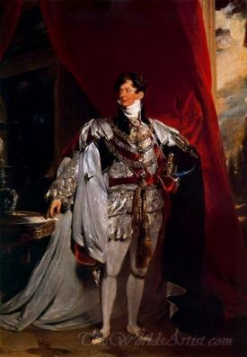 The Prince Regent Later George Iv Of England
